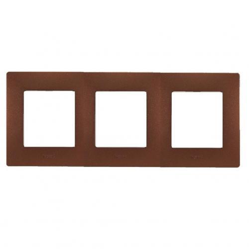 LEGRAND - Тройна рамка NILOE 397073 какао