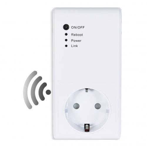 COmmel - Адаптор с Wi-Fi за SMART управление чрез Ios/Android приложение 16A вграден таймер Commel 265-305