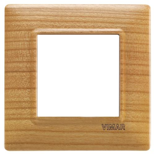 VIMAR - 14642.63 - Plana Двумодулна рамка wood cherry