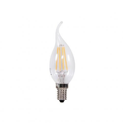 TNL - LED лампа FILAMENT E14 2W 360° C35 Flame