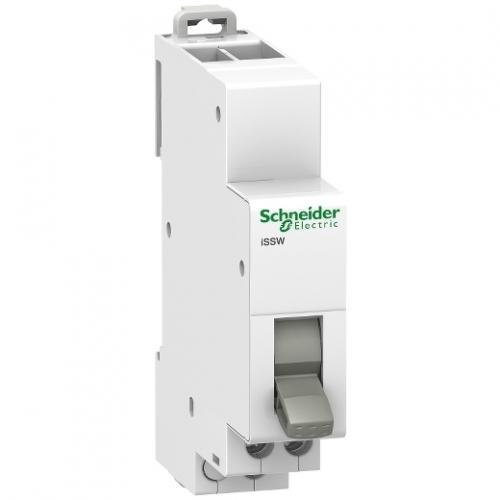 SCHNEIDER ELECTRIC - Ум шалтер Acti 9 iSSW I-0-II 1P 20A 1CO 250Vac 1 мод. A9E18073