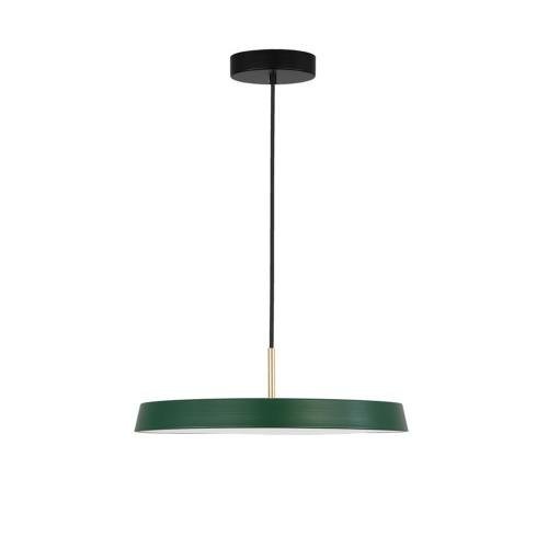 NOVA LUCE - Пендел VETRO 41W 3000K матирано зелено 910623