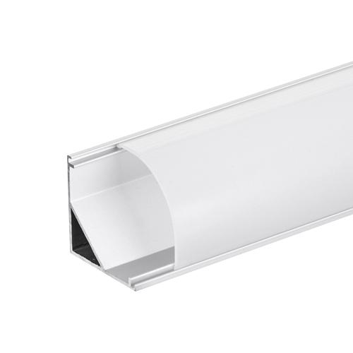 ULTRALUX - APN208 Алуминиев профил за LED лента, ъглов голям, 2м