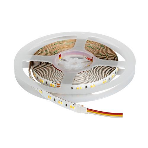 ULTRALUX - PN28120CCT  Професионална LED лента CCT 18W/m 2700K-6500K, 24V DC, 120LEDs/m, 5m, IP20, SMD2835