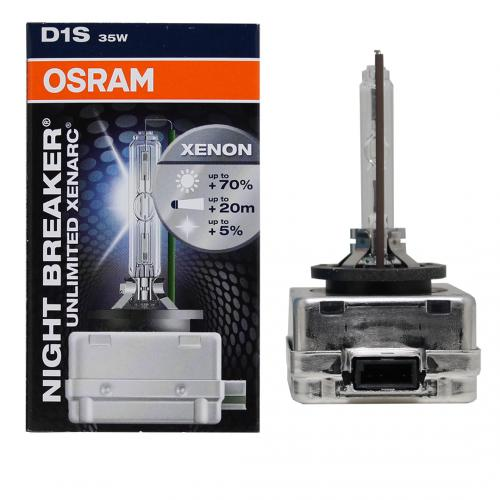 OSRAM - NIGHT BREAKER Unlimited 66140XNB D1S