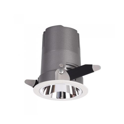 V-TAC - 10W LED COB Hotel Downlight CRI>95 4000K SKU: 1482 VT-2911