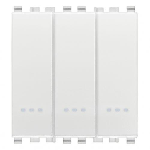 VIMAR - 20007.B - Eikon триполюсен ключ 1P 20A бял