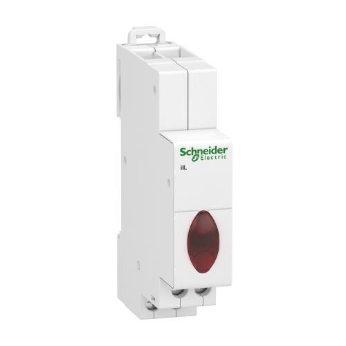 SCHNEIDER ELECTRIC - Модулен индикатор Acti 9 iIL 230…400Vac трифазен червен A9E18327