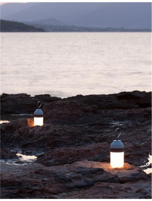 NOVA LUCE - LED преносима лампа MAYA 9180322 LED 1.5 W, 30Lm 3000K IP20 D: 7.7 H: 15-23 cm
