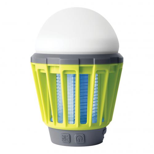 COmmel - Мултифункционална LED лампа 1W 180 lm с акумулатор 2,0 Ah, РЕЖИМ ПРОТИВ КОМАРИ, USB charger, IPХ6 Commel 401-711