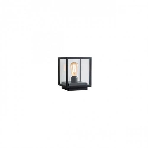 REDO GROUP - Градинско осветително тяло VITRA  9109 CD E27 1X15W IP54  BK