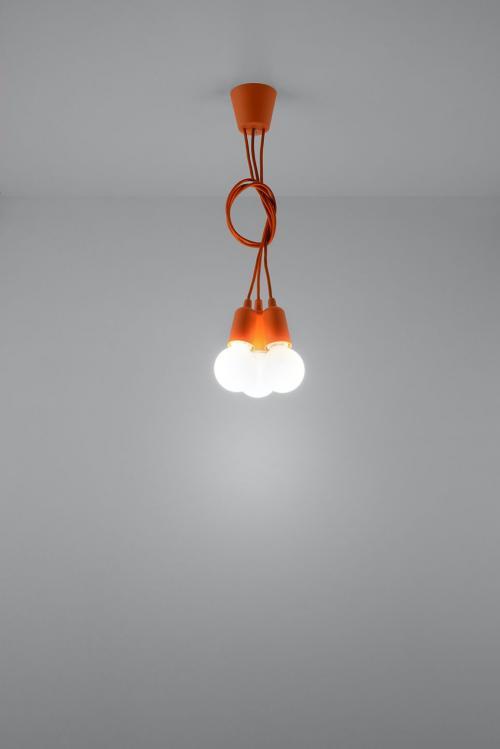 SOLLUX - Пендел  DIEGO 3 orange  SL.0585