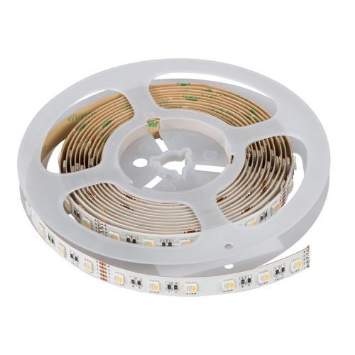 ULTRALUX - PN5060RGBW Професионална LED лента SMD5050, 19.2W/m, RGB+неутрално бяла, 24V DC, 60 LED/m, 5m ролка, неводоустойчива