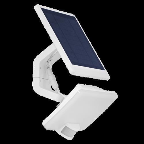 ULTRALUX - SPSS1150 Соларен LED прожектор с PIR датчик за движение 11W, 5000K, 220-240V AC, IP54