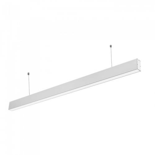 V-TAC PRO - LED Linear Light SAMSUNG Chip 40W Hanging Suspension White Body 4000К SKU: 376, 6000К SKU: 602 VT-7-40