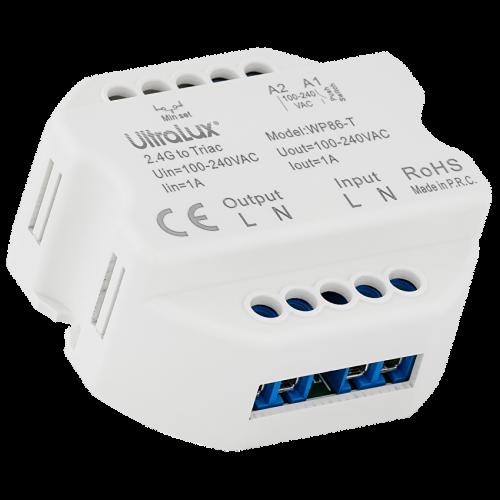 ULTRALUX - SSTDC Smart 2.4G RF TRIAC димер, 1A, 220W, 220-240VAC