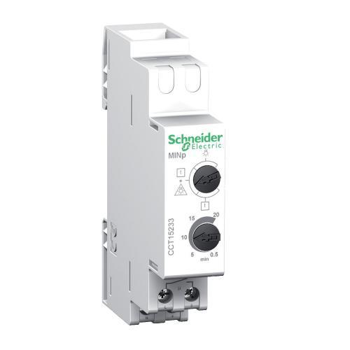 SCHNEIDER ELECTRIC - Стълбищен автомат Acti 9 MINp 0.5 - 60 минути с управление 1 мод. CCT15233