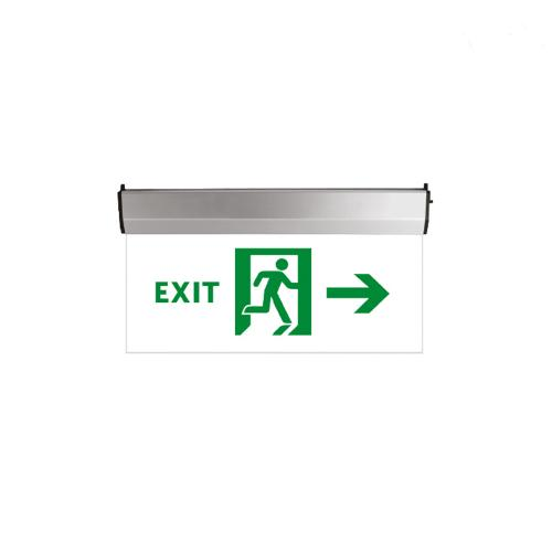 TNL - LED EMERGENCY LIGHT EXIT GLASS -ДЯСНО 3W