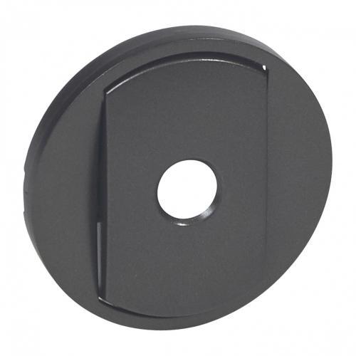 LEGRAND - Лицев панел за енергоспестяващ ключ Celiane 67922 графит