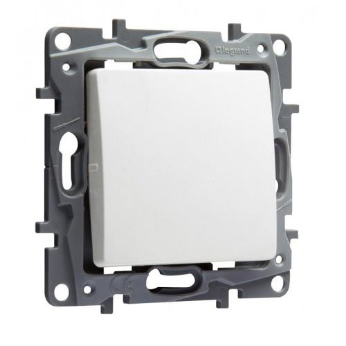 LEGRAND - 764500 NILOE Еднополюсен ключ бял сх.1