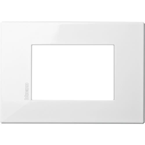 BTICINO - HW4803HD Рамка 3М бяла Axolute Air