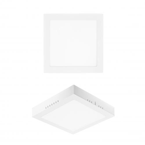PANASONIC - 18W LED панел за външен монтаж, квадрат, 6500K 225x225 LPLB21W186