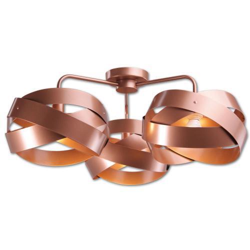 LIS LIGHTING - Плафон TORNADO 5014PL-H62 E14, 3x40W, H28, D66cm