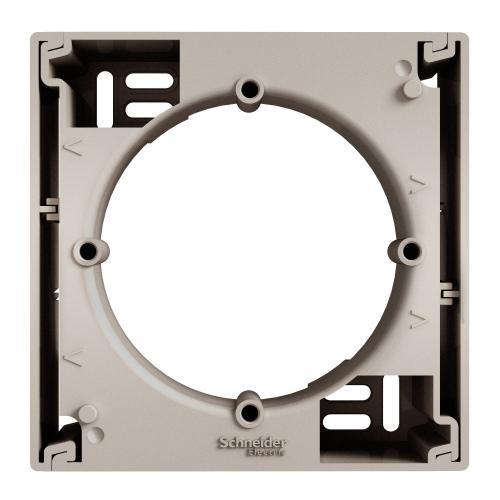 SCHNEIDER ELECTRIC - EPH6100169 Кутия за открит монтаж единична Asfora Бронз