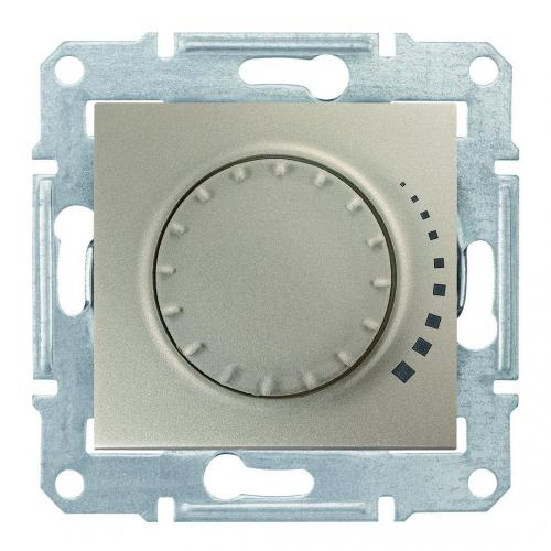 SCHNEIDER ELECTRIC - SDN2200468 Sedna - rotary dimmer - 325VA, without frame titanium