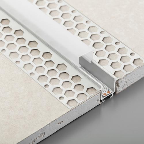 GTV Lighting - Дифузер за led профил GTV GLAX PA-OSMLGLAXMK3M-00 3 метра поликарбонат бял