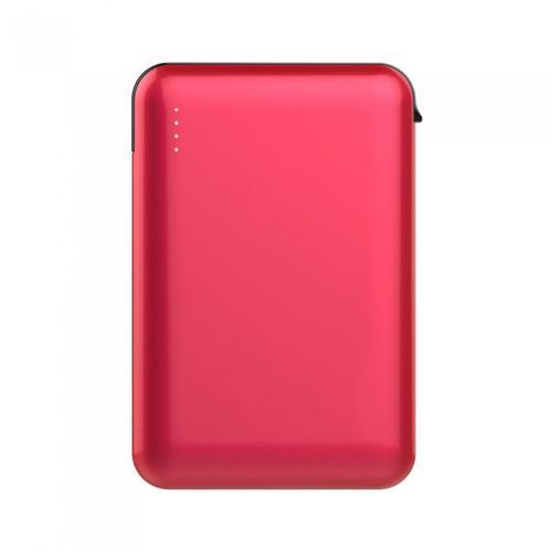 V-TAC - 5000 mAh Външна Батерия Дисплей Червена SKU: 8866 VT-3510