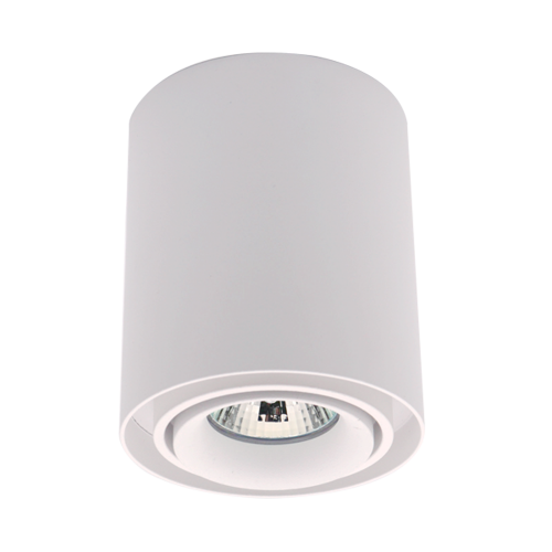ELMARK - DL-044 Лунa за външен монтаж бяла кръгла 92DL044R1/WH