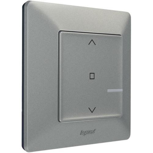 LEGRAND - Свързан ключ за щори безжичен Netatmo 752391 Valena Life алуминий