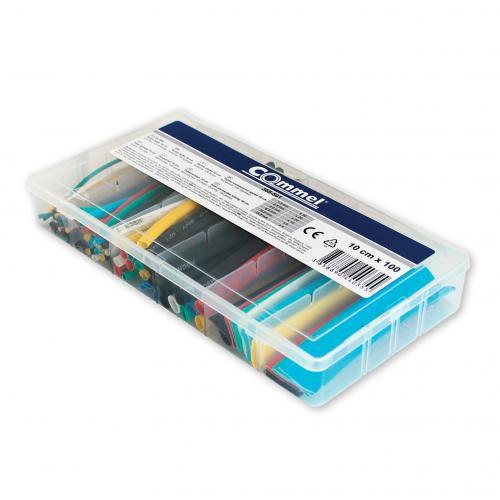 COmmel - Кутия с термошлаух 100 х 10см. цветни Commel 365-501