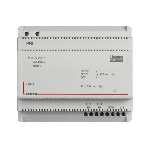 BTICINO - 346050 Зaхранване DIN 6M двупроводна 110-240V