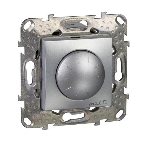 SCHNEIDER ELECTRIC - MGU5.513.30 Универсален димер девиатор UNICA за LED лампи 400W, алуминий
