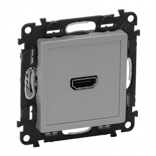 LEGRAND - Розетка HDMI (с винтове) Valena Life 753371 алуминий