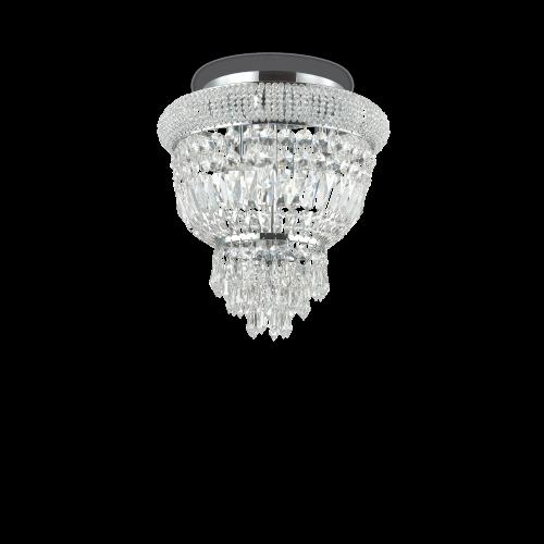IDEAL LUX - Плафон DUBAI  PL3  CROMO 207162