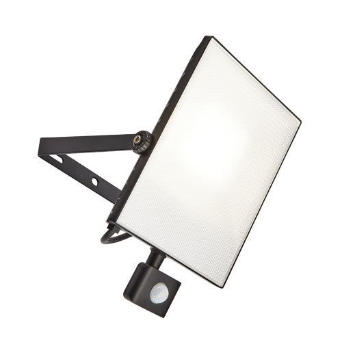 SAXBY - wall luminaire  SCIMITAR pir 73460 LED 50W, 4000LM, 4000K, IP65