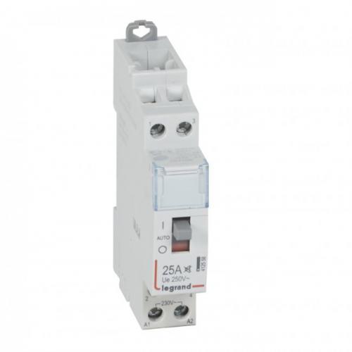 LEGRAND - Контактор модулен CX3 25А 2NO 220V 1 модул БЕЗШУМЕН 412558