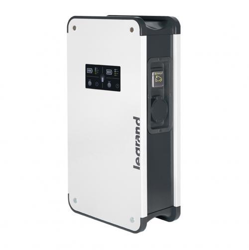 LEGRAND - 059048 Зарядна станция метална 22KW IP55, едностранна с 2 букси