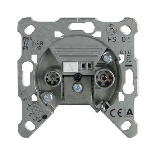 PANASONIC - TV-Rad Socket, Terminated, Mechanism WBTM0455-5NC