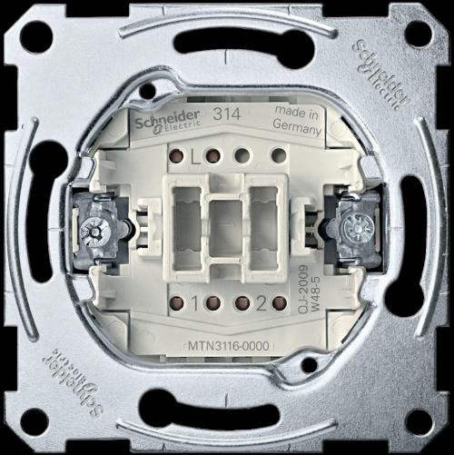 SCHNEIDER ELECTRIC - MTN3116-0000 Девиаторен ключ 10A механизъм