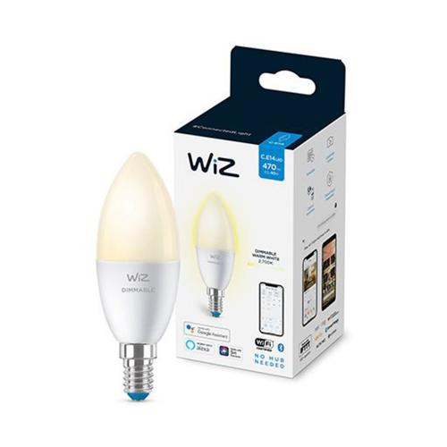 WIZ CONNECTED - WiFi Smart LED крушка, 4.9W E14 2700K 470lm 8718699786212