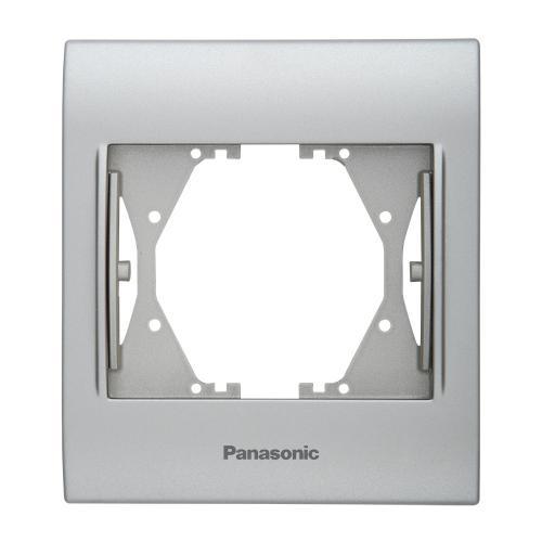 PANASONIC - Single Frame Chrome Matt WBTF0801-5CM