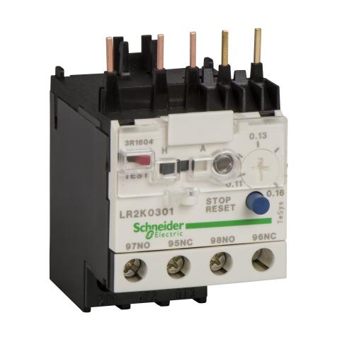 SCHNEIDER ELECTRIC - Термична защита TeSys K 0.11...0.16A LR2K0301