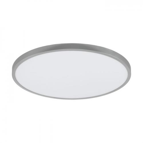 EGLO - ПЛ LED панел 27W 3200lm 3000K Ø600 димер.сребро 'FUEVA 1' 97552