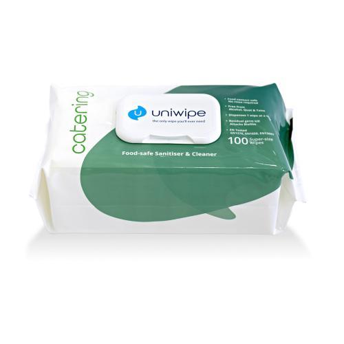 UNIWIPE - Мокри кърпи Uniwipe Catering 100бр. U5700
