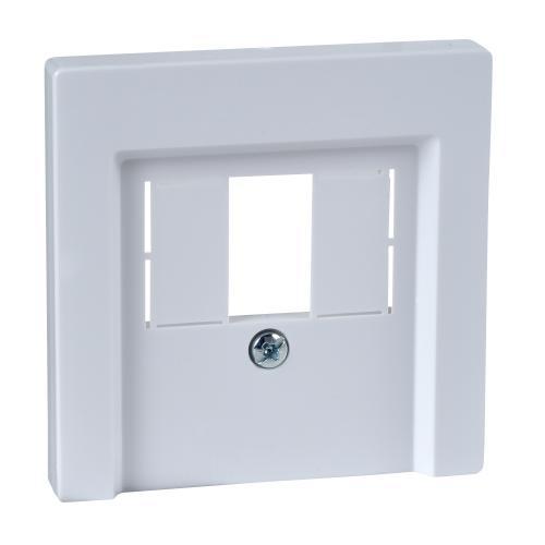 SCHNEIDER ELECTRIC - MTN296025 Лицев панел за USB активно бяло System M /антибактериален/