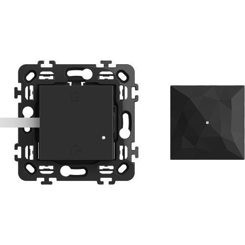 BTICINO - RG4500C Стартов пакет Smart (Gateway 2 мод. + Master ключ БЕЗжичен с 2 мод. носеща рамка) цвят Черен Classia Bticino с Netatmo